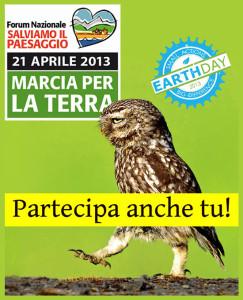 La Marcia per la Terra anche nel Lazio