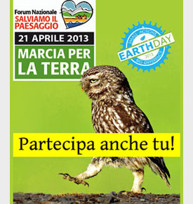 Marcia per la Terra 2013 - Istruzioni per l'uso