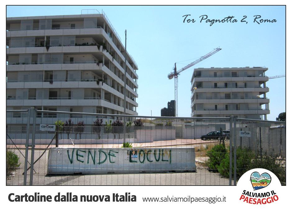 Cartoline dalla nuova Italia, Tor Pagnotta 2