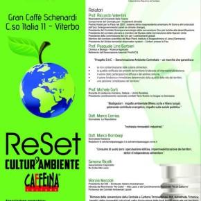 ReSet e CaffeinaCultura, a Viterbo si parla di futuro