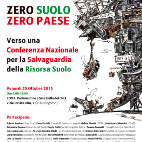 Presentazioni dei relatori al Convegno Zero Suolo, Zero Paese