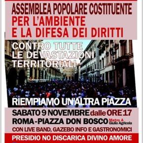 """Il presidio No discarica Divino Amore in piazza il 9 novembre: """"Via il Ministro Orlando"""""""