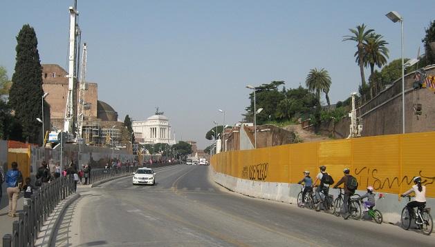 Roma: Metro C e via dei Fori Imperiali, un progetto senza 'garbo'