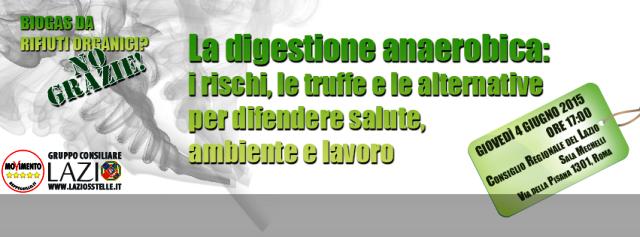 Ecodistretti e biogas, il dibattito in Regione Lazio
