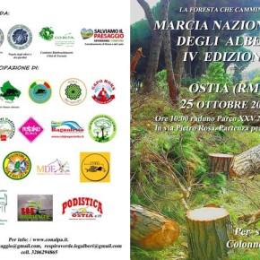 Marcia degli alberi 2015, a Ostia contro la mafia
