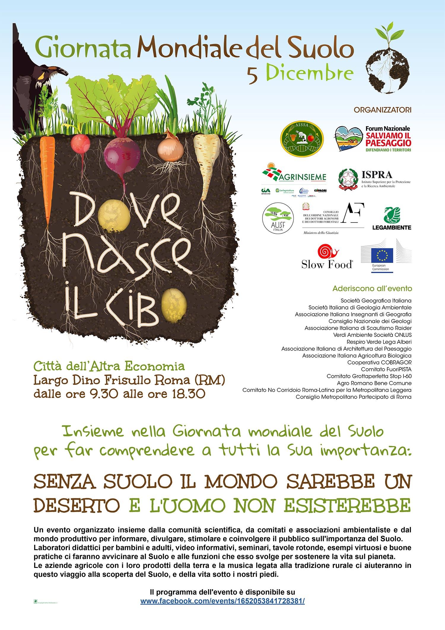 Soil Day, la locandina