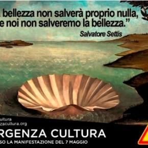 #EmergenzaCultura, il 6 e 7 maggio a Roma ci si mobilita per la bellezza