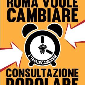 """""""Roma vuole cambiare"""", i cittadini manifestano in Campidoglio"""