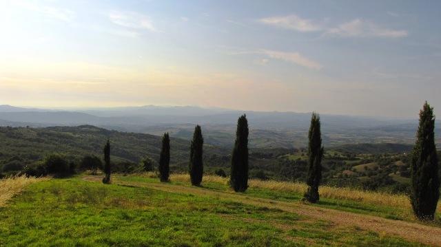 Colline della Toscana meridionale - Cinigliano (GR) (Foto Marco Bombagi)