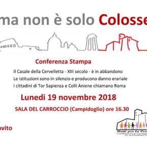 Casale della Cervelletta, Roma non è solo Colosseo