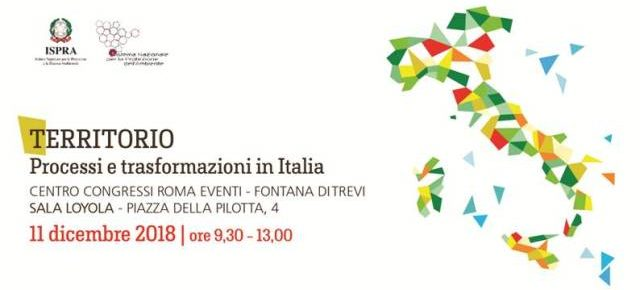 Ispra presenta a Roma il primo Rapporto sul Territorio