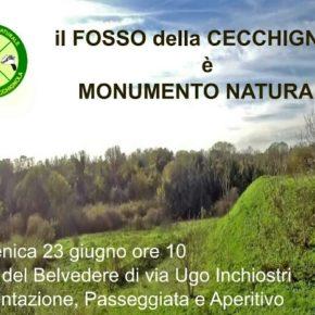 Fosso della Cecchignola monumento naturale, si festeggia.