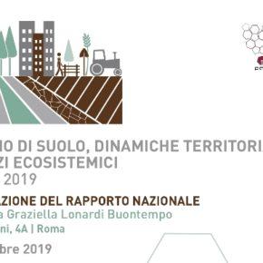 Consumo di suolo, l'Ispra presenta il rapporto 2019